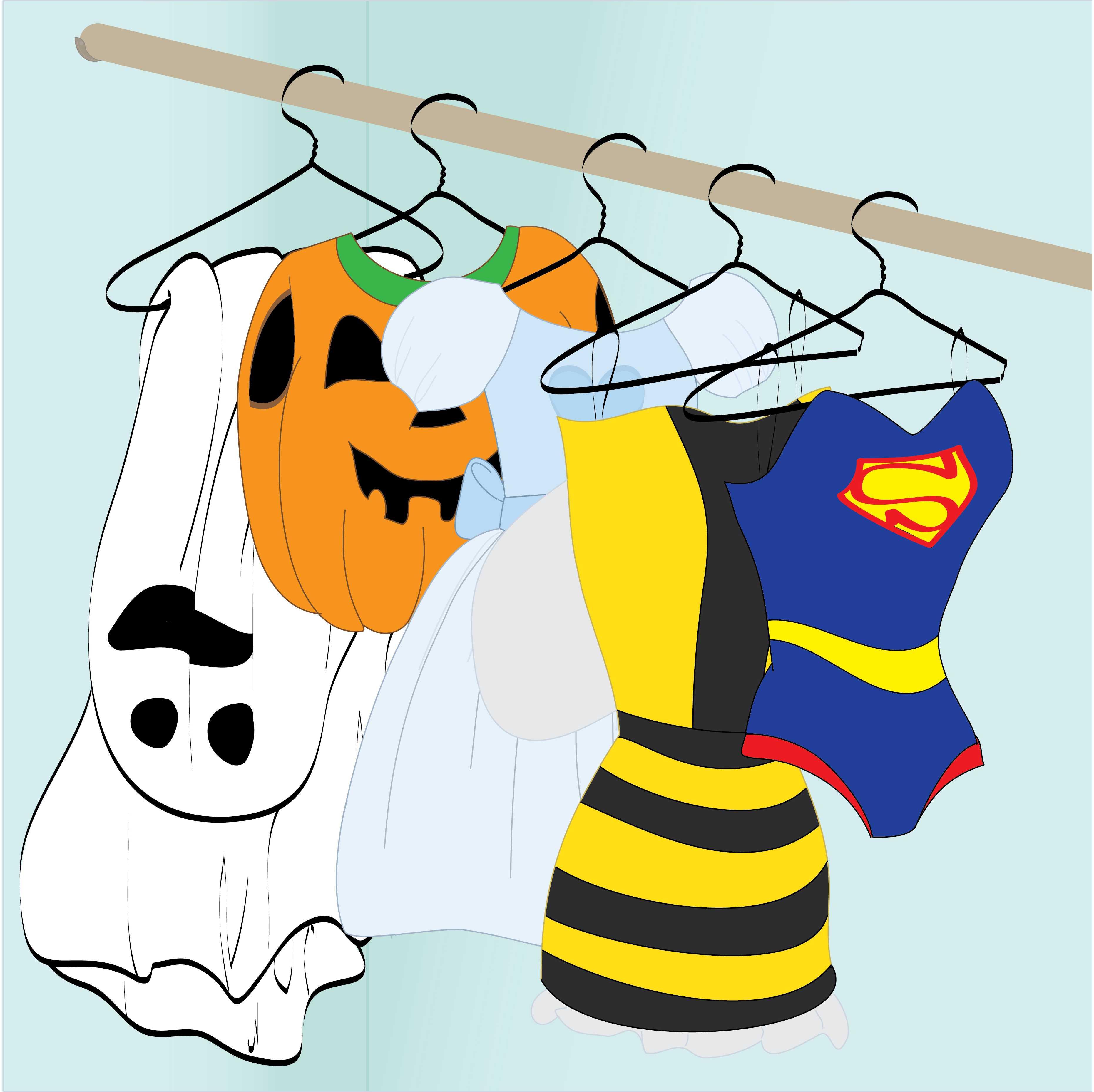 halloween costume timeline