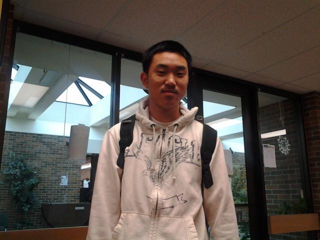 Senior Charles Shang