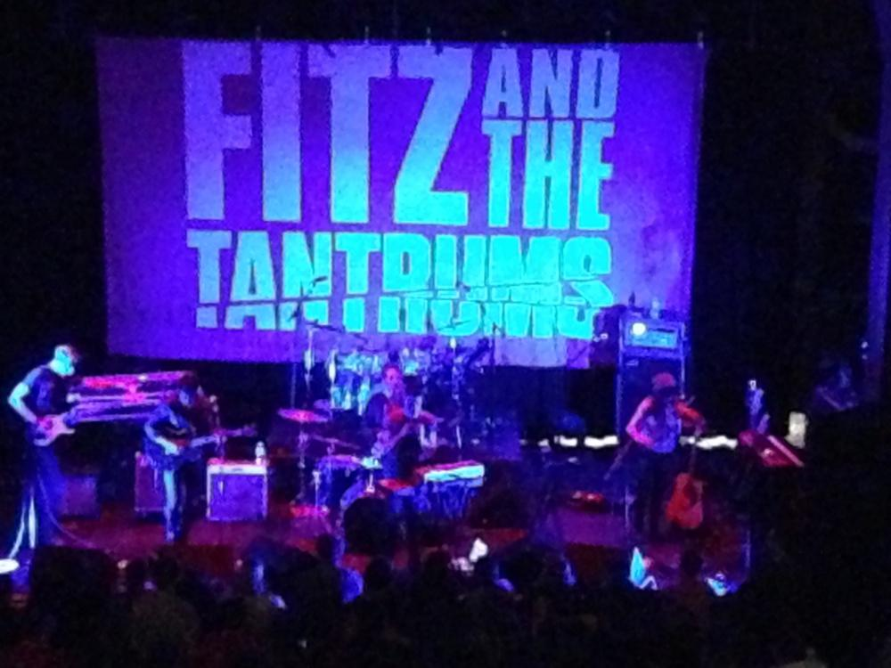 "Fitz and the Tantrums performed several of their hits, including ""MoneyGrabber"" and ""Don't Gotta Work It Out"". Photo by Blake Becker"
