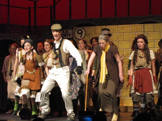 Ian Meyer played the poor revolutionary Bobby Strong in Urinetown.