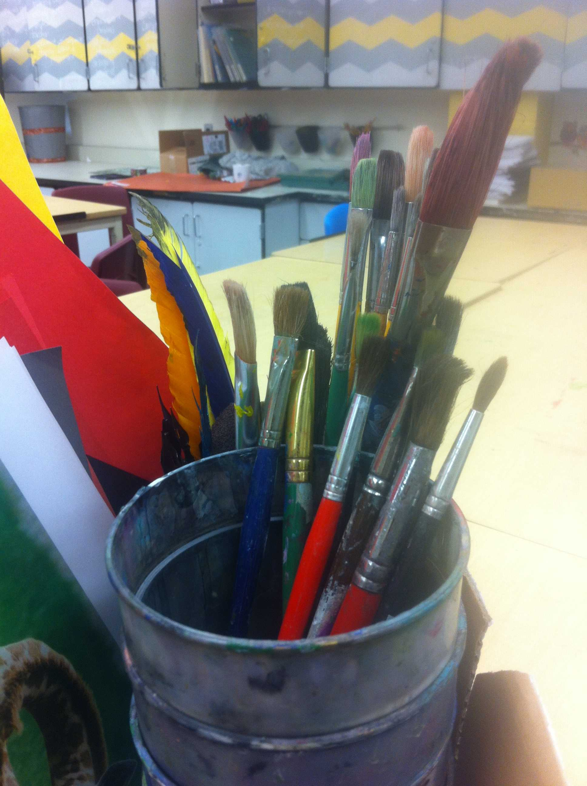 Last Artrageous Friday of the year provides outlet for students