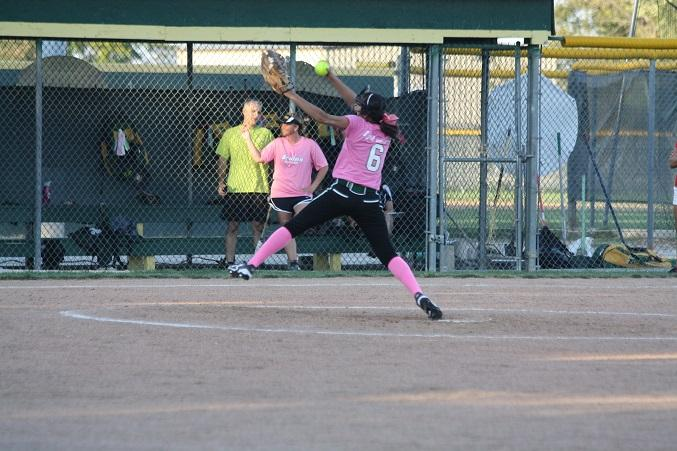 Softball takes another win in Pink-out game