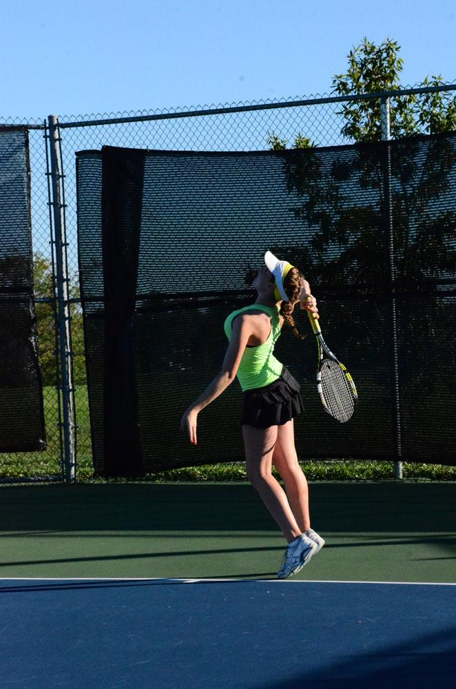 Bruins' doubles teams advance to state