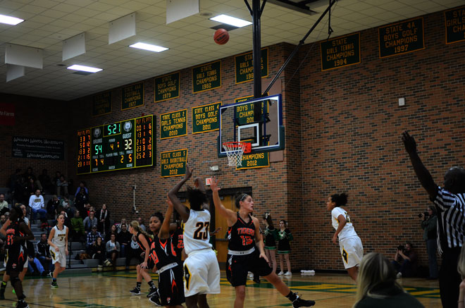 Girls basketball dominates their old foe