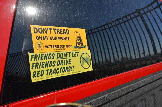 Guns necessary to deter violence