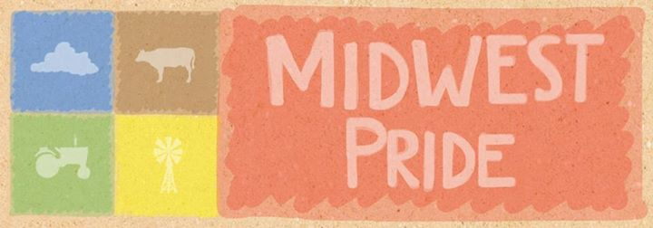 The logo for Midwest Pride Day.