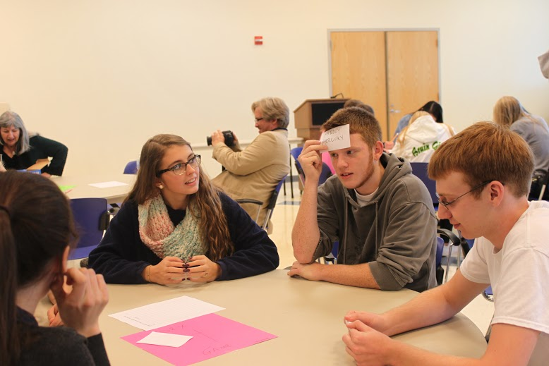 Students attend a youth advisory council Saturday, Oct. 4. Photo by Abby Kempf