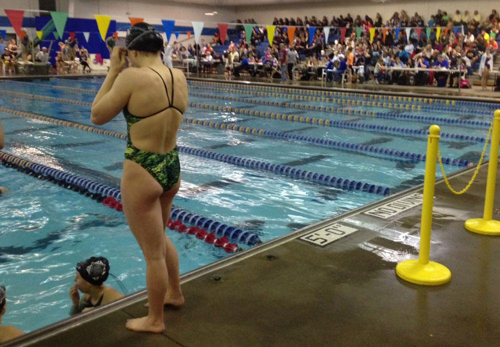 Girls swimming rallies to third place after coach's firing