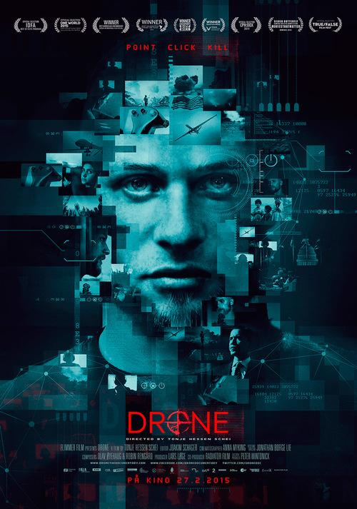 """Poster for """"Drone."""" Image used under Fair Use copyright laws."""
