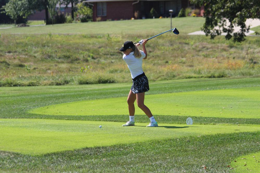 Girls golf places 4th at state; Bower earns all-state honors