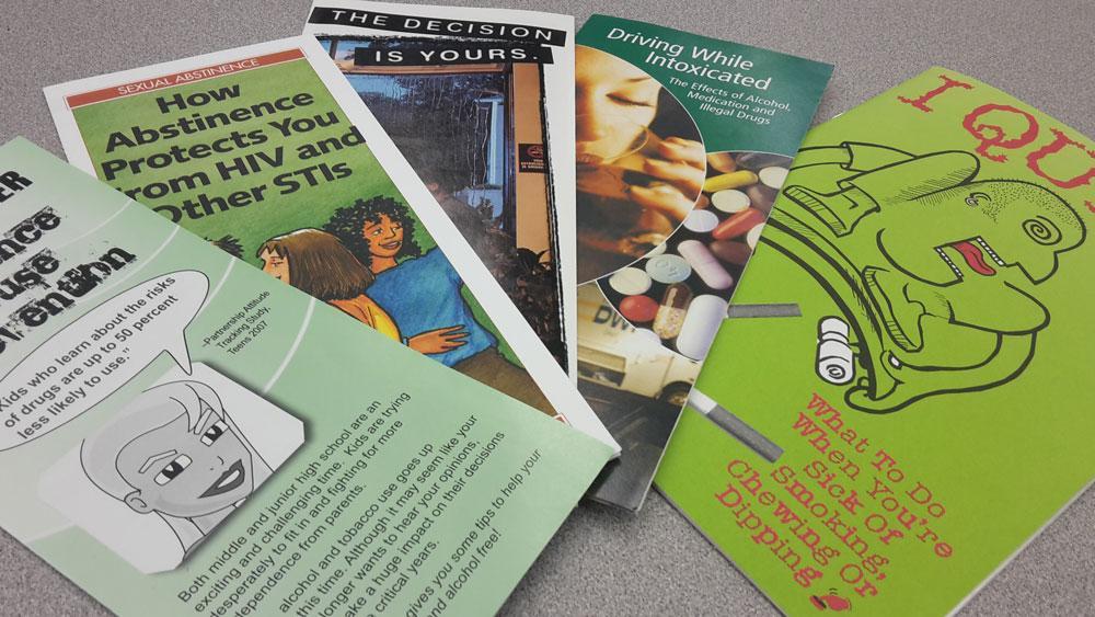 drug prevention brochures