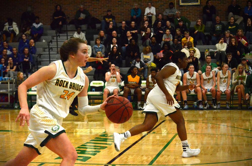 Senior Night ends in success for varsity girls' basketball