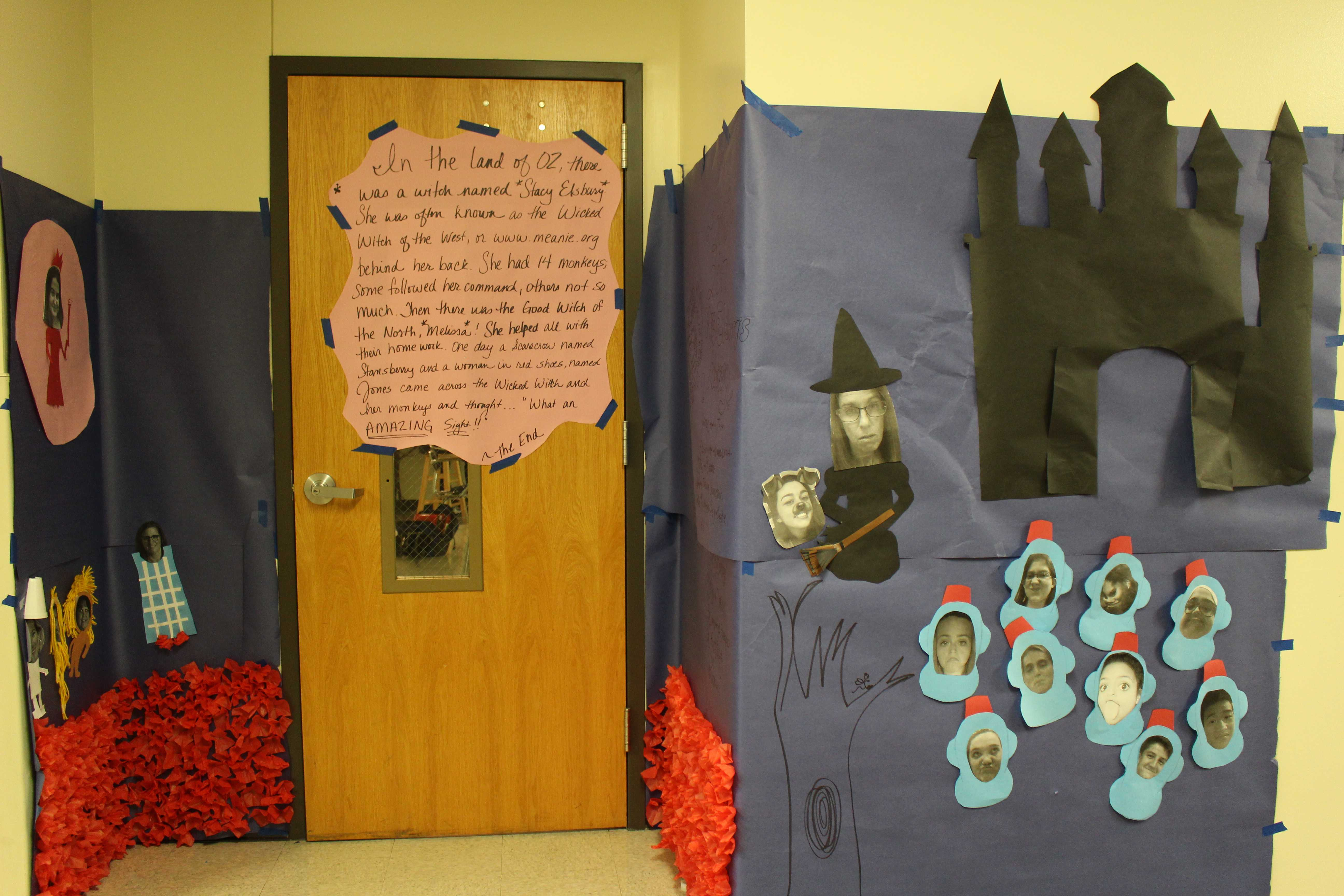 Freshmen Go All Out In The Second Annual Door Decs Competition