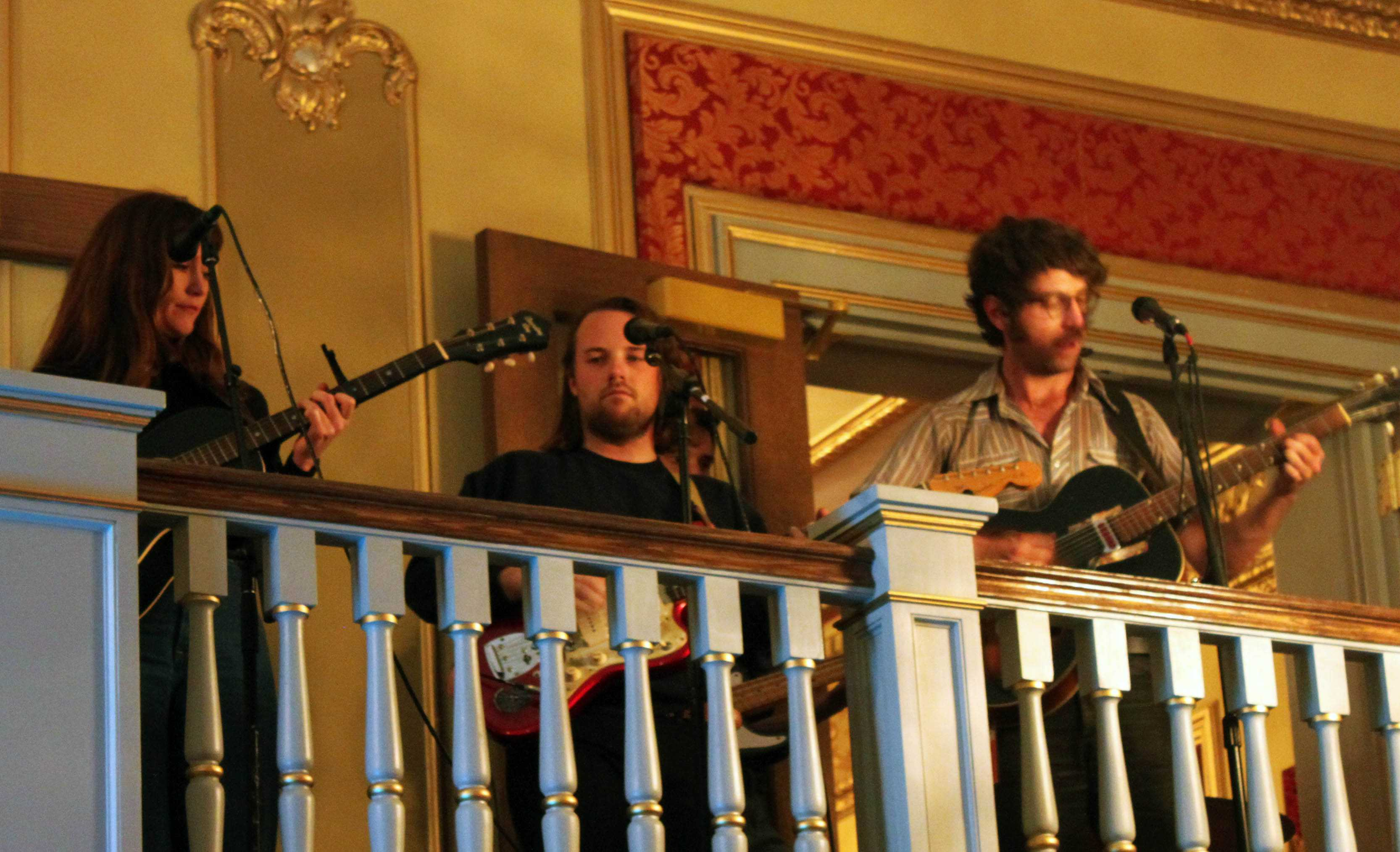 Local bands provides music, adding to the merriment of the party.