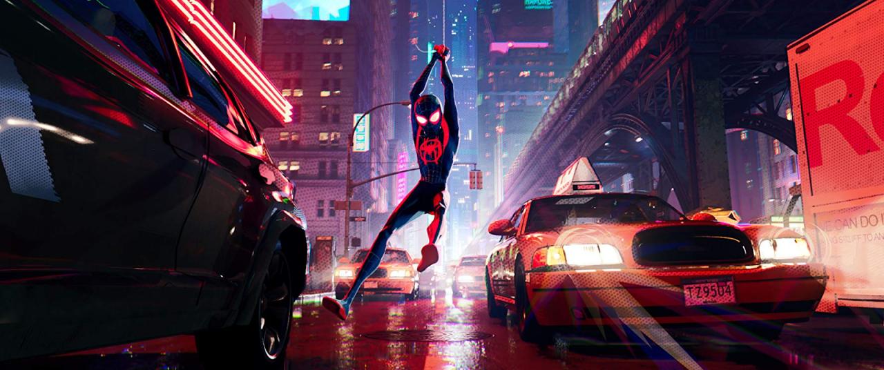 Spider-Man: Into the Spider-Verse is a dazzling work of art