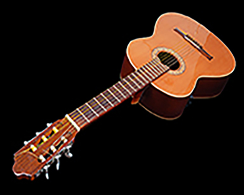 A bland photo of an acoustic guitar to compliment this bland song.